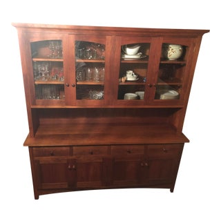 Thomas Moser Sideboard and Hutch