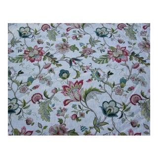 Kaufmann Fabric Brissac Jacobean Floral Fabric- 3 Yards For Sale