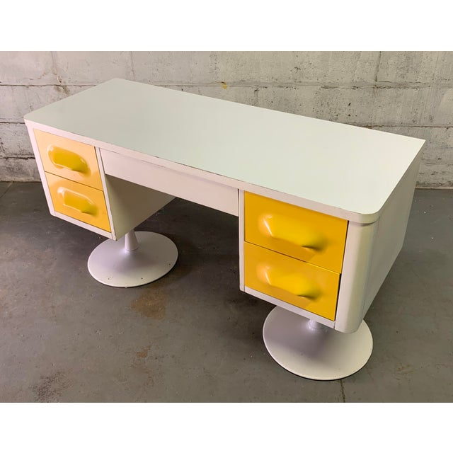 Broyhill Rare Mid Century Modern Broyhill Premier Chapter One Desk For Sale - Image 4 of 11