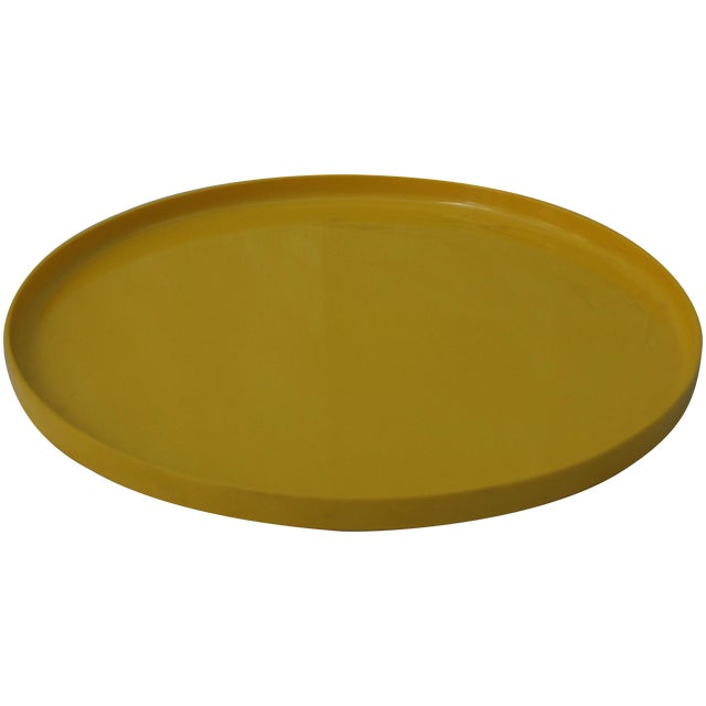 Massimo Vignelli for Heller Tray in Yellow - Image 1 of 5