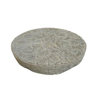 Round Cement Garden Stepping Stone For Sale