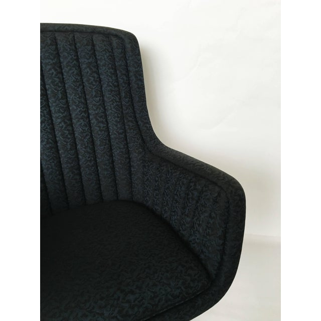 Mid-Century Modern Set of Eight Ward Bennett for Brickel Associates Swivel Chairs For Sale - Image 3 of 10