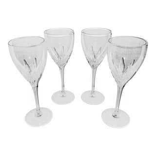 Lenox Firelight Etched Crystal Stemware - Set of 4 For Sale