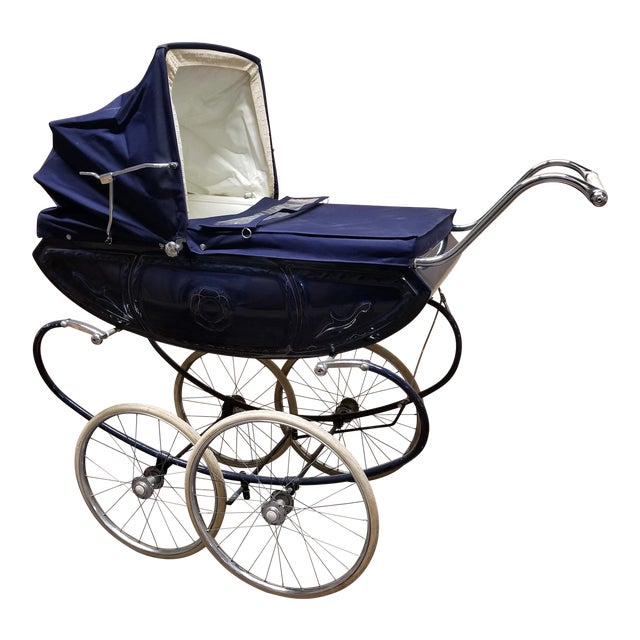 Vintage Pedigree Pram Baby Stroller Buggy Carriage Circa 1960s Home & Hearth Antiques
