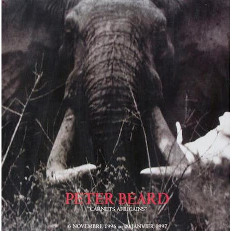 "Peter Beard ""Carnets Africans"" Exhibition Poster - Image 5 of 6"