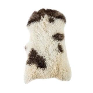 """Contemporary Natural Sheepskin Pelt - 1'10""""x3'0"""" For Sale"""