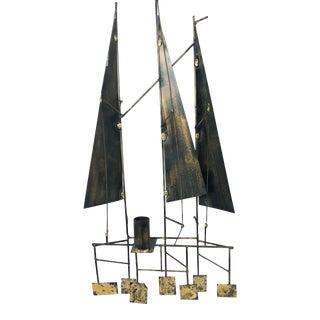 Gerd Scharrelmann Sailboat Sculpture For Sale