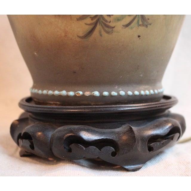 Japanese Vase Lamp For Sale - Image 9 of 9