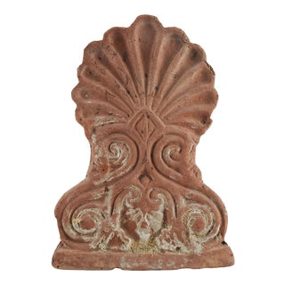Antique French Terra Cotta Roof Finial For Sale