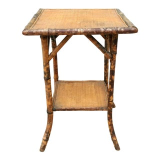 Early 20th Century Antique Bamboo Table For Sale
