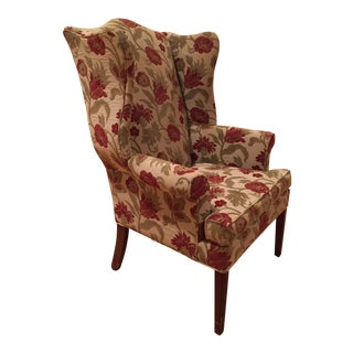 Ethan Allen Wingback Chair For Sale