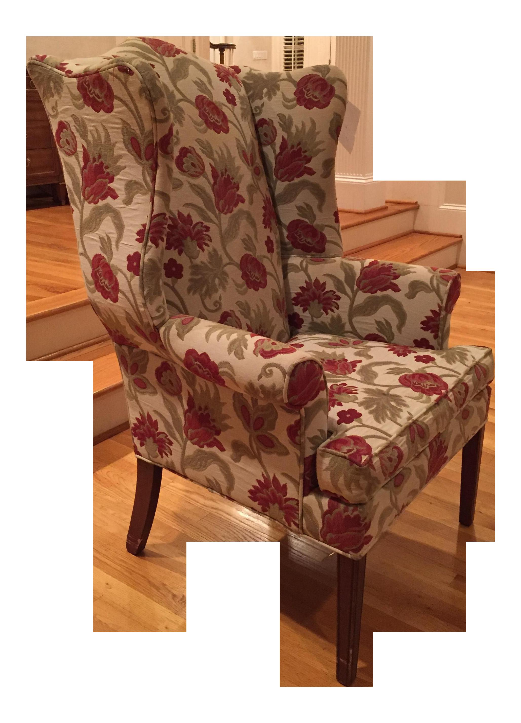Superbe Ethan Allen Wingback Chair