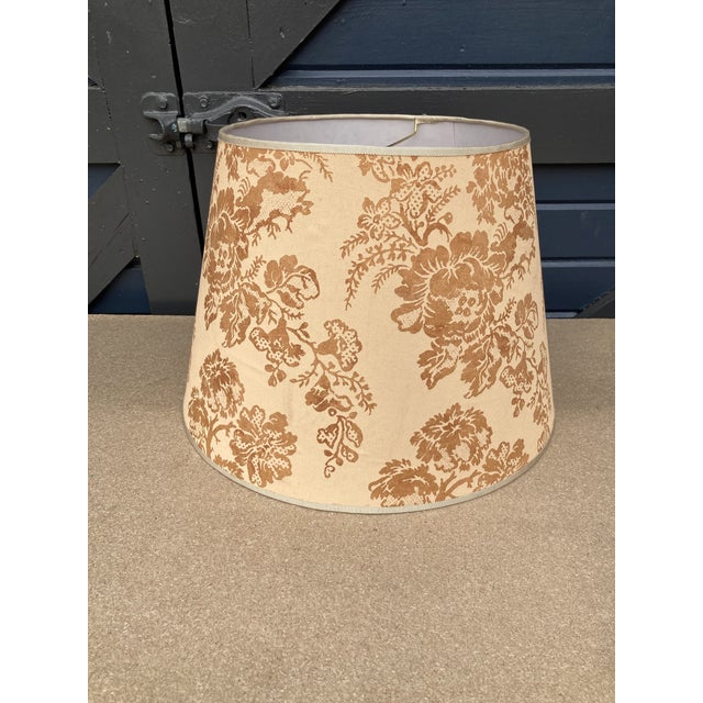 Not Yet Made - Made To Order Brunchwig & Fils Floral Print Fabric Lampshade For Sale - Image 5 of 5