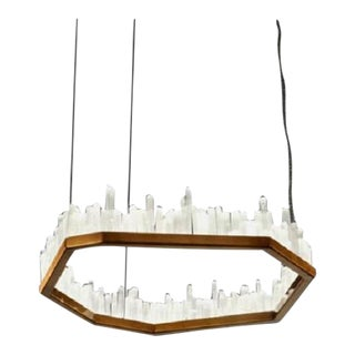 Modern Downtown Pendant Chandelier For Sale