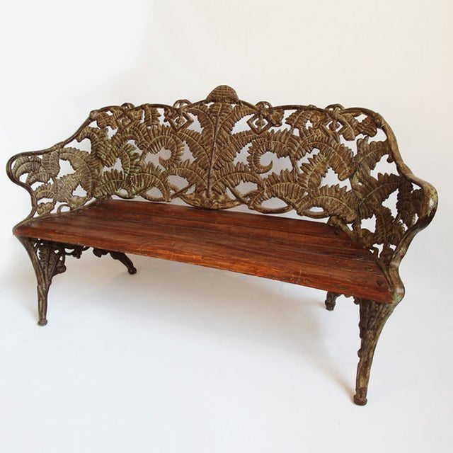 Cast Iron Park Bench - Image 3 of 3
