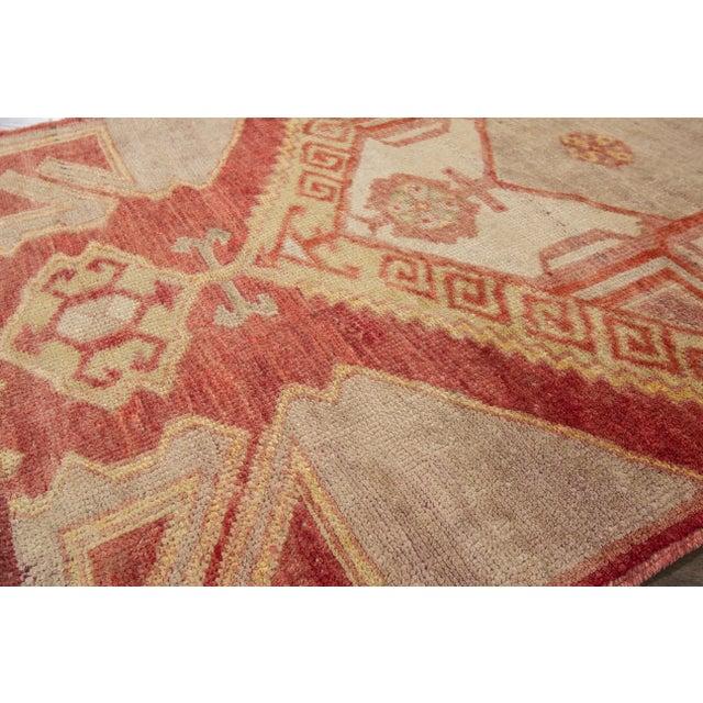 "Apadana - Vintage Turkish Anatolian Rug, 3'3"" x 10'3"" - Image 6 of 7"