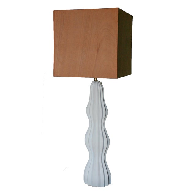 Not Yet Made - Made To Order Ripple Table Lamp by MarGian Studio For Sale - Image 5 of 7