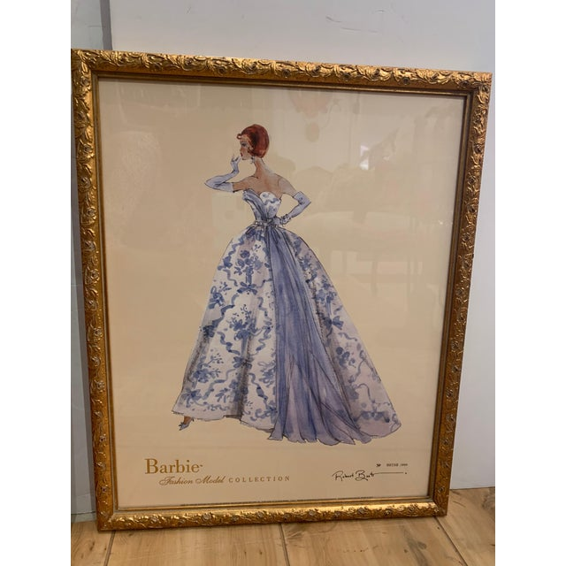 Barbie Fashion Model Collectible Prints - Set of 4 For Sale - Image 12 of 13