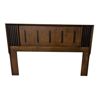 Lane Queen Headboard With Rosewood Inlay For Sale