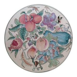 Chinese Porcelain Plate For Sale