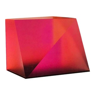 1970s Lucite Prism For Sale