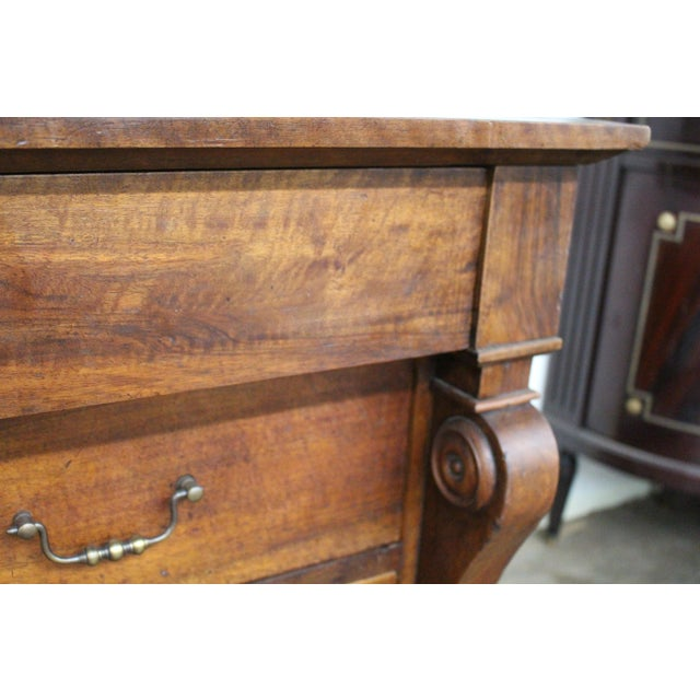19th Century French Three Drawer Commode For Sale - Image 10 of 12