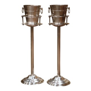"Pair of 19th Century French Wine ""Rafraichissoirs"" Coolers From Saint Tropez For Sale"