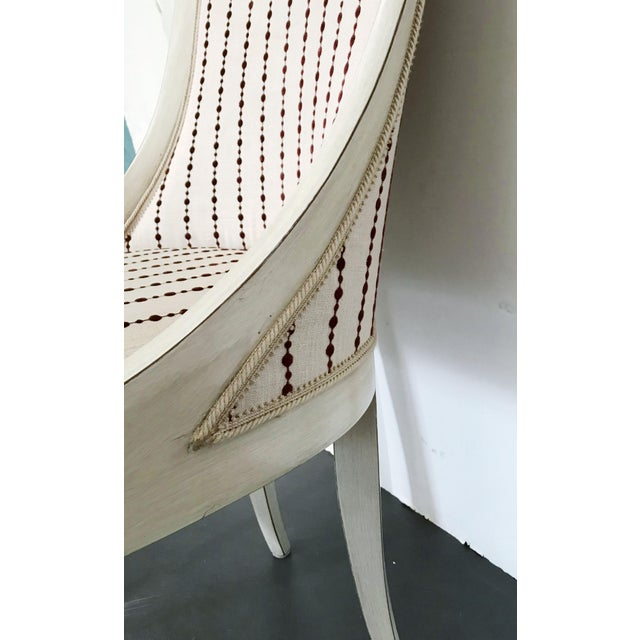 Textile 1980s Vintage Italian Chair For Sale - Image 7 of 10