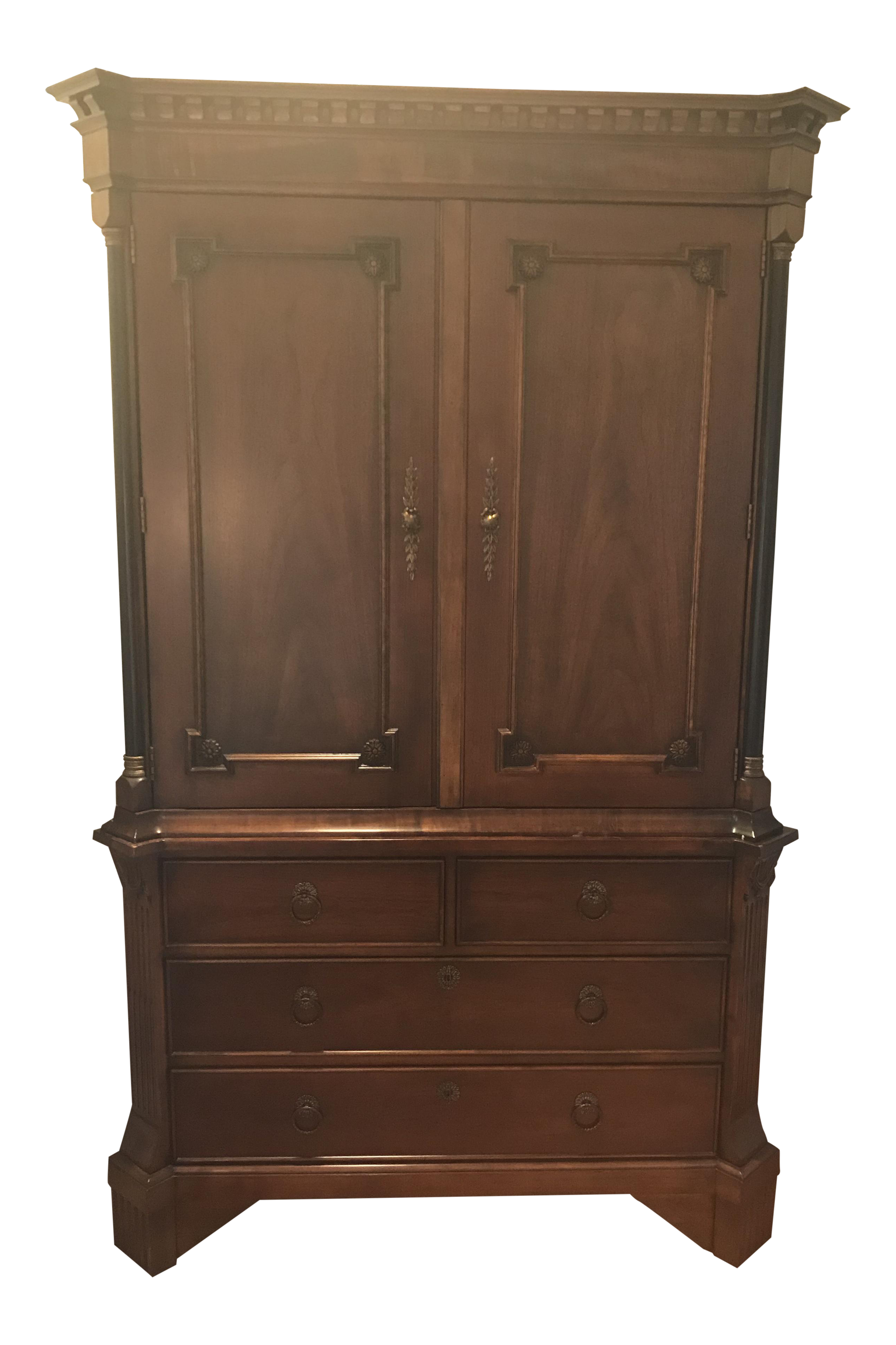 Genial Hickory Chair Armoire
