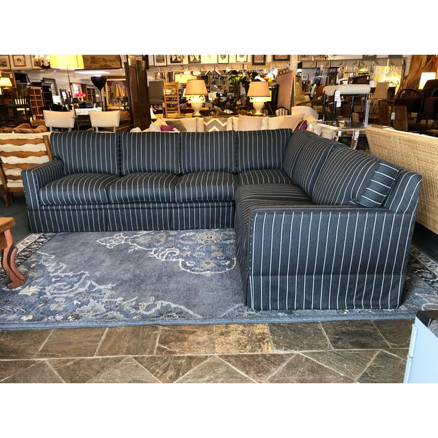 New Custom Jasper Sectional by California Sofa For Sale - Image 13 of 13