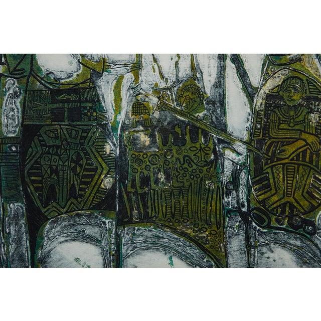 Bruce Onobrakpeya Nomorere Print For Sale In New York - Image 6 of 11
