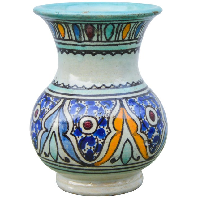 Antique Andalusian Ceramic Vase For Sale - Image 10 of 10