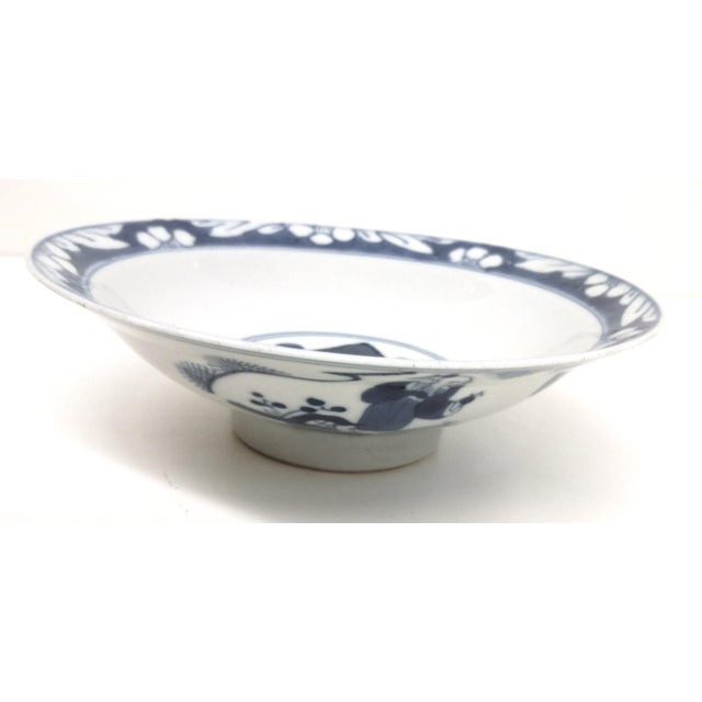 Antique Chinese Blue White Rice Bowl - Image 2 of 10