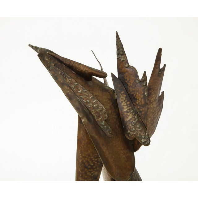 Gold Homer Gunn Brutalist Sculpture For Sale - Image 8 of 12