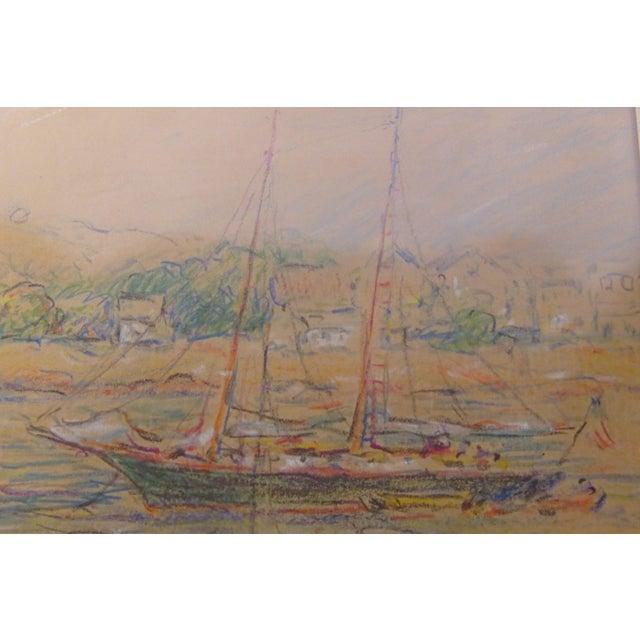 """""""Rockport"""" Signed Dated Original by ReynoldsBeal For Sale - Image 5 of 9"""