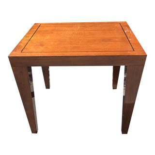 Unusual Donghia Madrid Modern Designer Side or End Table For Sale