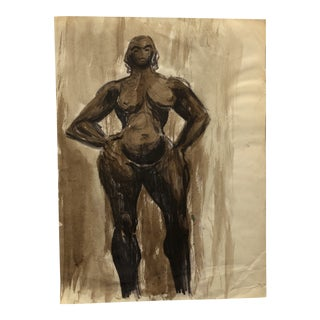Portrait of a Female Nude 1930s For Sale