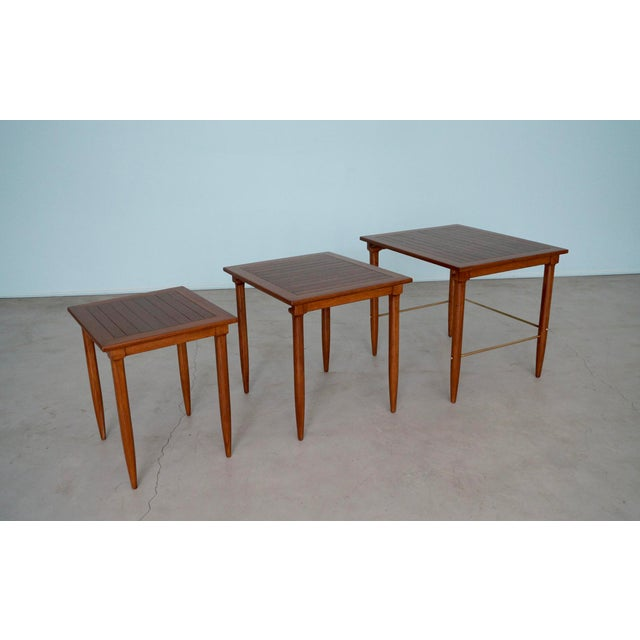 1950s Mid-Century Modern Tomlinson Nesting Tables - Set of 3 For Sale - Image 13 of 13