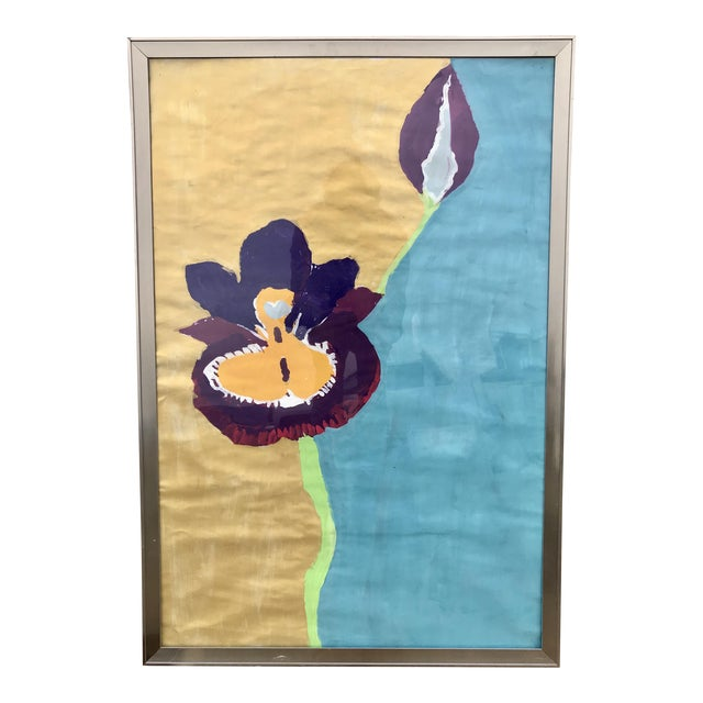 Framed Kid Art Painting For Sale