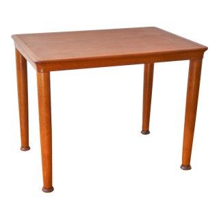 Danish Modern Side Table by Henning Kjaernulf for Vejle Stole Og Møbelfabrik For Sale