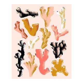 Interlocking Coral (Blush) by Sarah Gordon