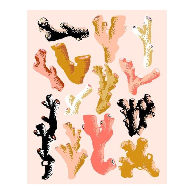 Interlocking Coral (Blush) by Sarah Gordon For Sale
