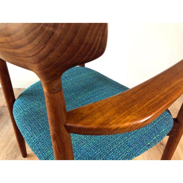 Randers Møbelfabrik 1960s Harry Østergaard for Randers Møbelfabrik Dining Chairs - Set of 8 For Sale - Image 4 of 13