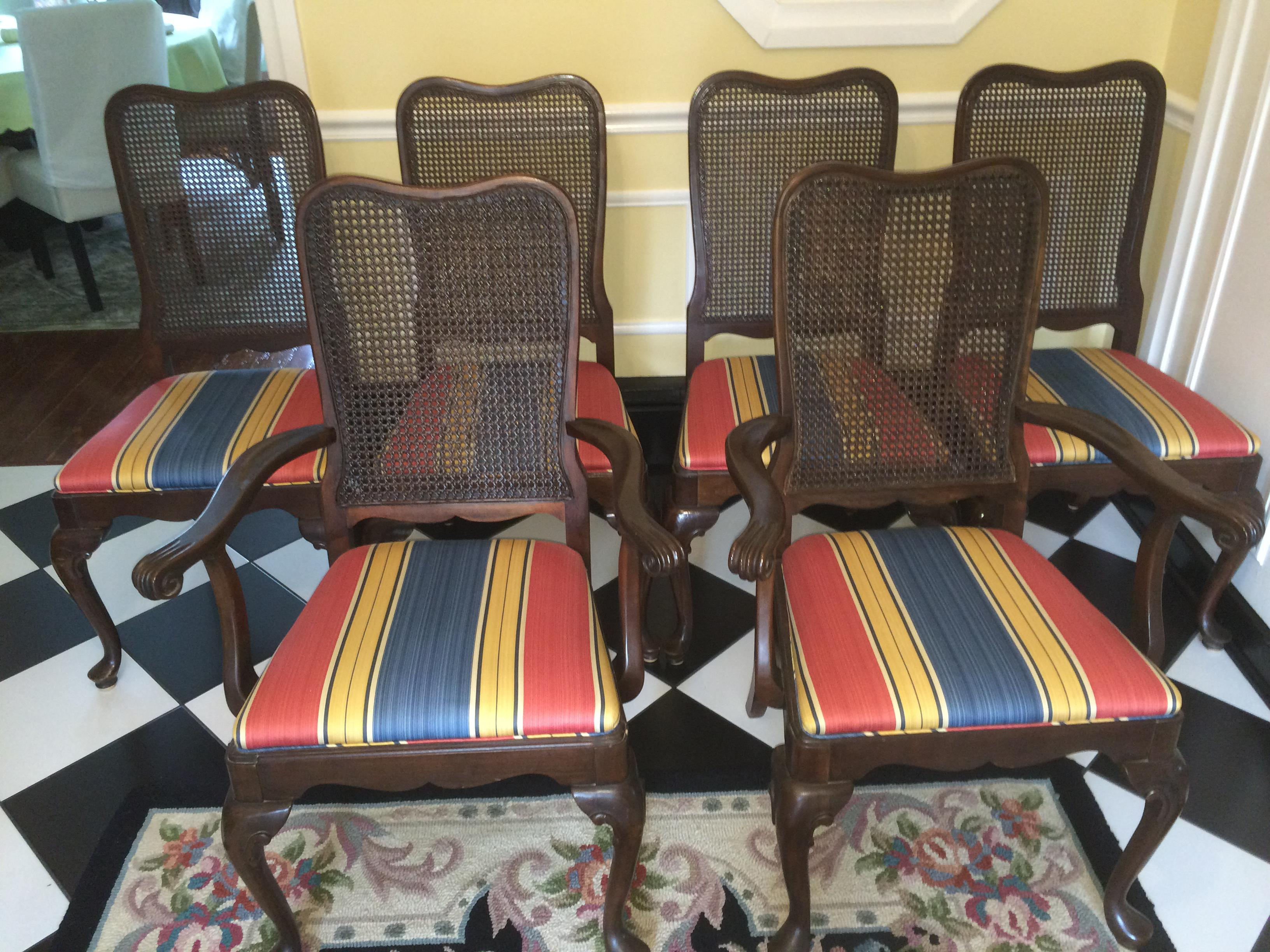 Ethan Allen Georgian Court Cherry Dining Chairs   Set Of 6   Image 2 Of 4
