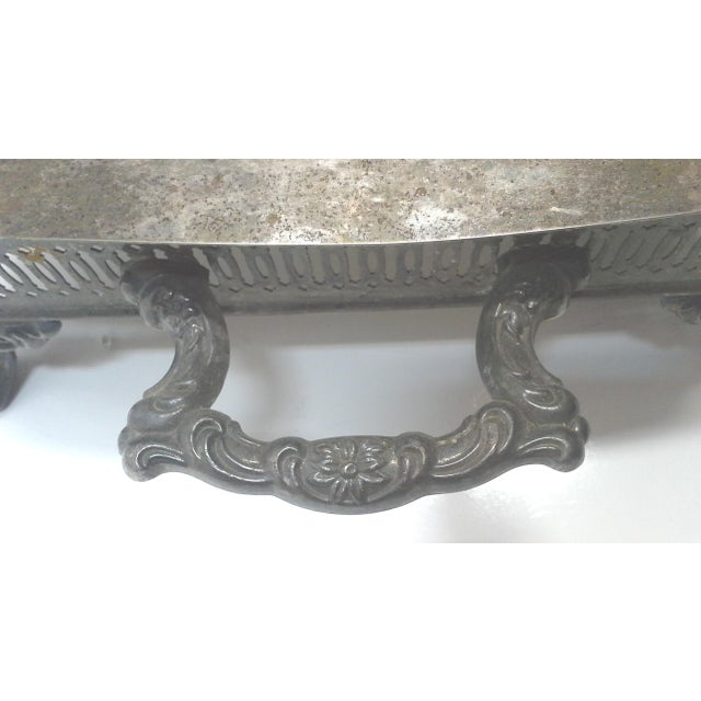 Silver-plated Ornate Baroque Lidded Serving Dish - Image 7 of 8