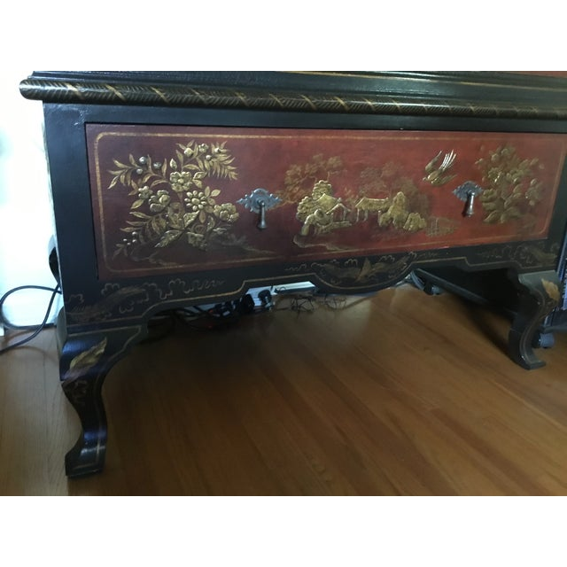 Chinoiserie Chinoiserie Cabinet For Sale - Image 3 of 6