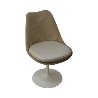 Knoll Eero Saarinen Mid Century Armless Side Chair For Sale