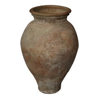 Oversized Spanish Terracotta Vessel or Jar