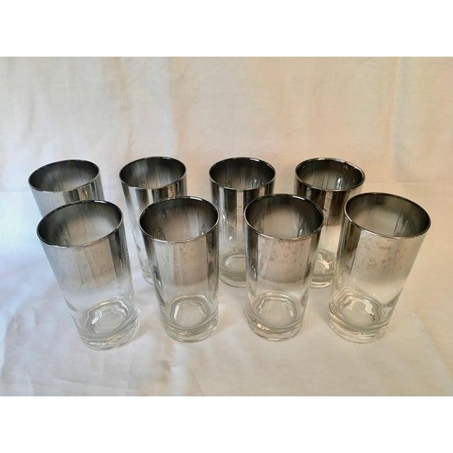 Mid-Century Dorothy Thorpe Style Drinking Glasses - Set of 8 - Image 9 of 9