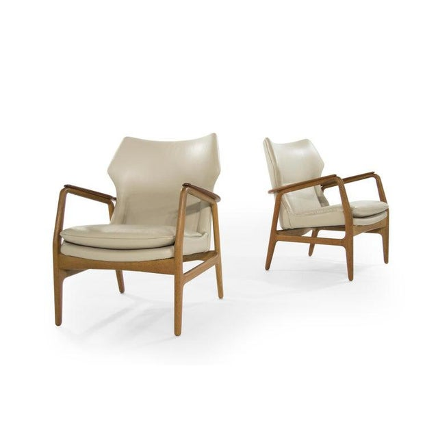 Wood Teak Lounge Chairs by Aksel Bender Madsen for Bovenkamp - a Pair For Sale - Image 7 of 13